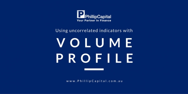 Using uncorrelated indicators with volume profile