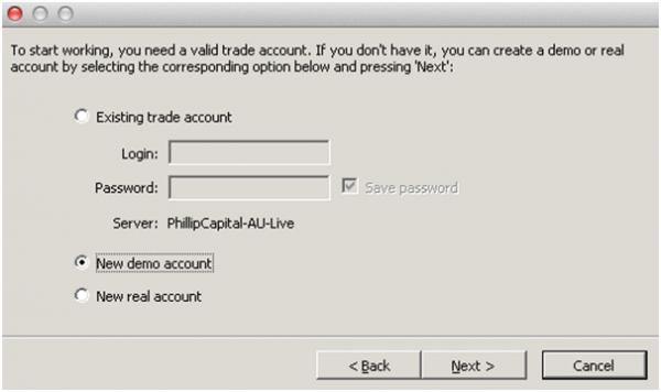 Forex trading demo account mac
