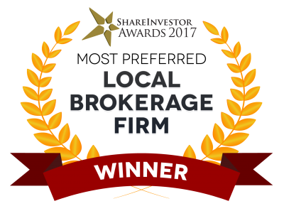 Phillip Capital Share Investor Awards 2017 Most Preferred Local Brokerage Firm