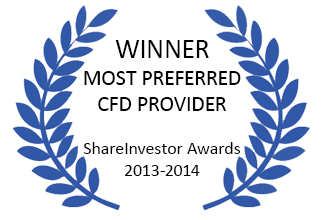 Winner: Most Preferred CFD Provider 2014